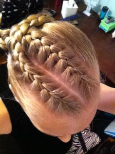hairstyles for heart shaped face : Hair: gymnastics on Pinterest Gymnastics Hairstyles, Gymnastics Hair ...