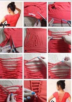 Back triangle shirt