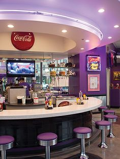 The #PurpleCow bar #Conway