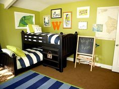 Beach Boy boy's room theme