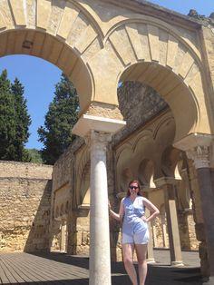 Yo en las ruinas de Medina Azahara
