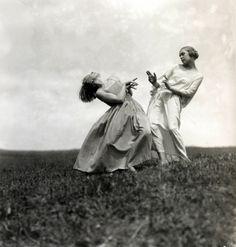 'Dancers of Mary Wigman's School,Saxe,Switzerland,1923/by Elli Seraidari