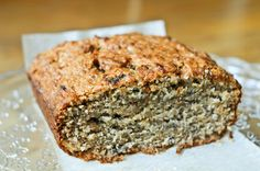 Banana Coconut Bread- vegan. I made this today and will be making it again soon! (i always have all of these ingredients on hand!) you can sub coconut oil for butter.