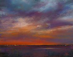 'Distant Light'    11x14   pastel  Karen Margulis