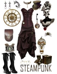 Find the corset here - thevioletvixen.co...  Steampunk steampunk steampunk!
