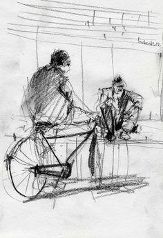 Oldmen by Behzad Bagheri Sketches, via Flickr