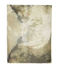 Athena Procopiou Two Moons modal and cashmere-blend scarf