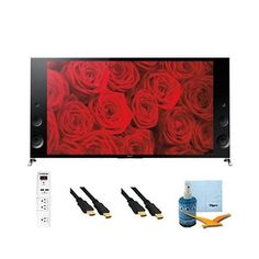 "79"" 120Hz 3D LED Premium 4K Ultra HD TV Plus Hook-Up Bundle - XBR79X900B. Bundle Includes TV, 3 Outlet Surge protector with 2 USB Ports, 2 -6 ft High Speed 3D Ready 1080p HDMI Cable, Performance TV/LCD Screen Cleaning Kit, and Cleaning Cloth. Sony http://www.amazon.ca/dp/B00KXAGPBK/ref=cm_sw_r_pi_dp_CBaTub1X1JXPY"