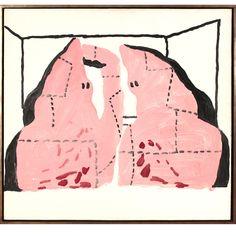 philip guston  untitled 1969  Acrylic on panel  76 X 81,5  Mckee Gallery