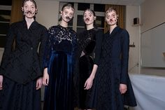 Givenchy FW15 backstage