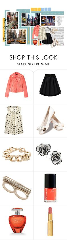 """""""Times Square - 15/12"""" by samantastark ❤ liked on Polyvore featuring TAXI, Theory, J.Crew, Stuart Weitzman, River Island, Miss Selfridge, Nordstrom, Elizabeth Arden and Too Faced Cosmetics"""