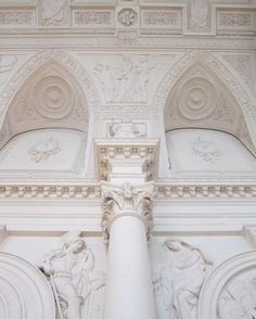 Early 19th Century - Decorative Architectural details, St Petersburg, Russia.