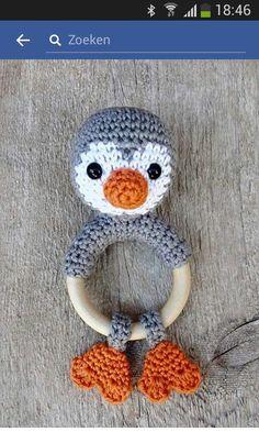 Pingvin rangle med trering