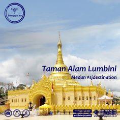 Siapa yang menyangka bahwa Taman Alam Lumbini memiliki pagoda tertinggi di Indonesia dan sudah mendapatkan penghargaan dari MURI. Pagoda di Taman Alam Lumbini merupakan replika dari Pagoda Shwedagon yang ada di Burma, Myanmar. Bangunan megah ini berlokasi di Berastagi, Sumatera Utara. Hanya 2-3 jam saja dari Medan.
