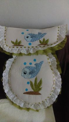 Babys, Applique, Embroidery, Bathroom Mat Sets, Silk Ribbon Embroidery, Suits, Ribbons, Stitches, Craft Ideas