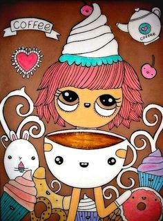 Karen Steph‏「It's coffee time」