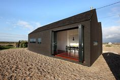 The Shingle House at Dungeness in Kent By Nord Architects for Living Architecture