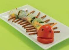 (9) RECIPE: Very Hungry Caterpillar Sushi Rolls! (not really fish!) #WorldEricCarle #HungryCaterpillar