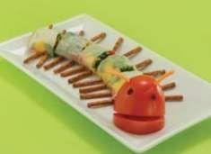 (9) RECIPE: Very Hungry Caterpillar Sushi Rolls! (not really fish!) #WorldEricCarle #HungryCaterpillar
