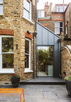 Porch Extension, Glass Extension, House Extension Design, House Design, Extension Ideas, Side Extension, Victorian Terrace House, Victorian Homes, Mid Terrace House