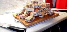 Συνταγή Μαντολατο με ξηρους καρπους Waffles, Dairy, Cheese, Breakfast, Food, Breakfast Cafe, Essen, Waffle, Yemek