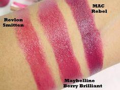 Dupe Discovered: MAC Rebel Lipstick