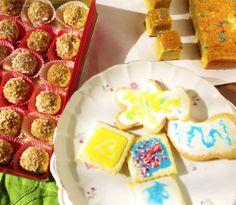 A trio of cookies: o
