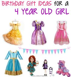 Birthday Gift Ideas For A Four Year Old Girl Gifts Girls