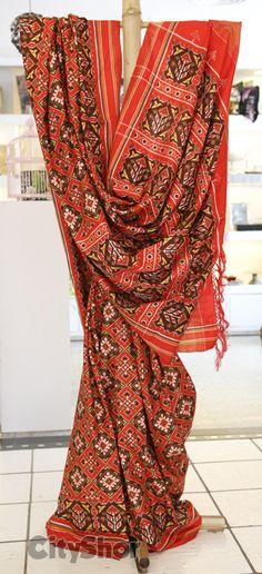 Vanilla presents Patan Patola Indian Beauty Saree bac2e9365b