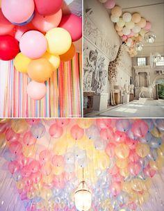 Decorazioni non floreali: palloncini