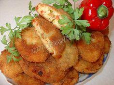 Pljeskavice od krompira, sira, šargarepe i paprika  http://www.recepti.com/kuvar/topla-predjela/5206-pljeskavice-od-krompira-sira-sargarepe-i-paprika