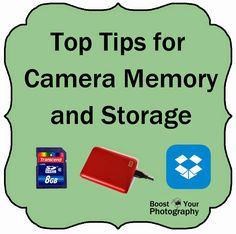 Top Tips for Camera Memory and Storage - Boost Your Photography Photography Lessons, Photography Tutorials, Love Photography, Digital Photography, Gopro Photography, Wedding Photography, Landscape Photography, Portrait Photography, Camera Hacks