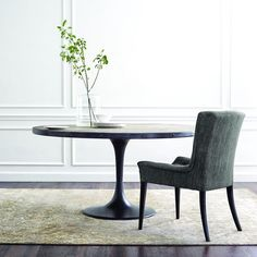 Our popular Kenton Table is a fresh twist on the classic tulip table. [Link in bio to shop the shot] Dining Room Furniture, Rustic Furniture, Furniture Design, Cheap Furniture, Industrial Kitchen Design, Interior Design Kitchen, Industrial Chair, Home Design, Design Ideas