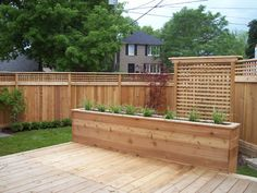 A portfolio of work including slide shows of Decks, Fences and Trellises, Porches and Steps, Renovations and Carpentry, and Outdoor Structures. Backyard Retreat, Backyard Patio, Backyard Landscaping, Backyard Ideas, Deck Planter Boxes, Deck Planters, Hot Tub Deck, Deck Makeover, Landscaping Retaining Walls