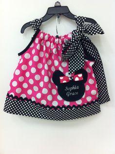 Minnie Mouse Pillowcase Dress by BuniquesBoutique on Etsy $30.00 & Lovelea Designs: Dr. Seuss Pillowcase Dresses   DIY FASHION ... pillowsntoast.com