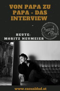 Interview mit Moritz Neumeier! Der deutsche Stand-Up-Künstler gibt seine ehrlichen Antworten! Interview, Moritz, Up, Dads, Movie Posters, Blog, Casual, Daddy And Son, Father And Baby