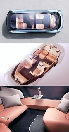 Futurix: Nio Eve ein in China hergestelltes elektrisches Konzeptauto Futurix: Nio Eve is an electric concept car made in China Car Interior Sketch, Car Interior Design, Automotive Design, In China, Design Autos, Electric Car Concept, Futuristic Cars, Motorcycle Design, Car Makes
