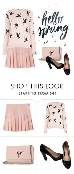 """""""hello spring"""" by janesmiley ❤ liked on Polyvore featuring Oasis, Timorous Beasties, Giuseppe Zanotti and Miu Miu"""