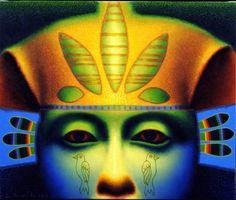 "Ed Paschke ""Blue Pharaoh"" 2000"