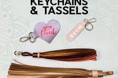 Easy Faux Leather Keychains with Iron-On Vinyl, Cut on a Cricut! Craft Paint Storage, Craft Tables With Storage, Craft Room Tables, Ikea Craft Room, Storage Ideas, Paper Flower Patterns, Paper Flower Tutorial, Ribbon Storage, Diy Ribbon