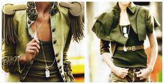 military fashion women - Google Search