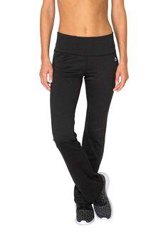 57a3dcbc3eabd RBX Active Ladie's Fleece Yoga Boot Cut Sweatpants >>> This is