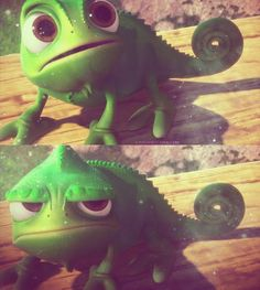 Pascal -  Rapunzel: A Tangled Tale (2010) #waltdisney #fanart