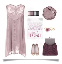 """Purple Rose"" by thaliatria ❤ liked on Polyvore featuring Patchington, Chantecaille and Clé de Peau Beauté"