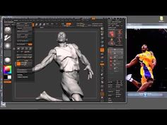 Sculpting Drapery & Cloth Folds In ZBrush With Steve Lord - YouTube
