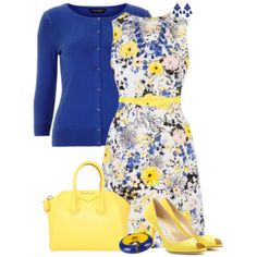 Canary and Blue