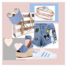 """Things to love"" by suusbelle on Polyvore featuring Disney Stars Studios, Ted Baker, Chloé, adidas en Maison Margiela"