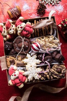 How To Create the Best Holiday Cookie Box: @halfbakedharvest.com