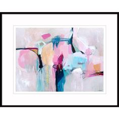 Abstract print pink blue large, abstract art print pastel, large... ($185) ❤ liked on Polyvore featuring home, home decor, wall art, abstract home decor, abstract canvas wall art, pink canvas wall art, pink home decor and pink flamingo painting