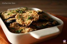 Melanzane al trito aromatico, cucina con sara